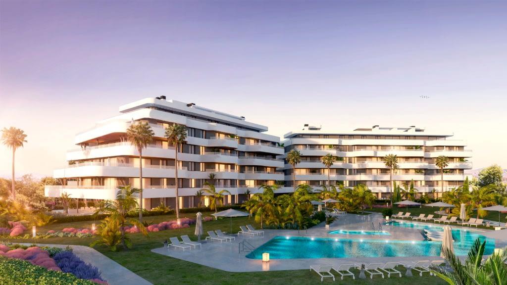 New development beach front